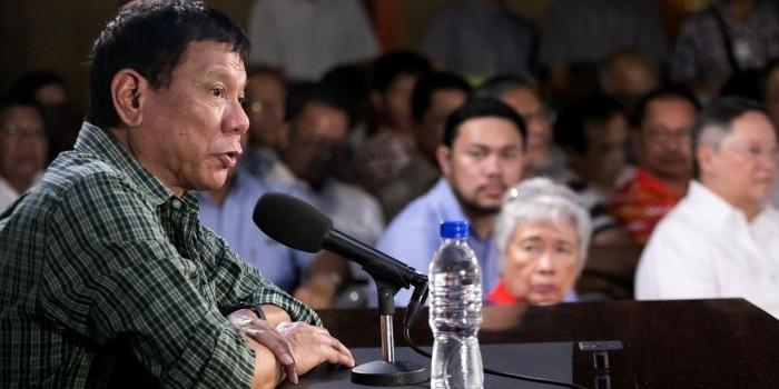 Президент Филиппин пригрозил вместе с Китаем создать альтернативу ООН
