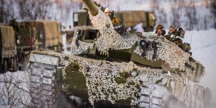 На границе с Россией начались масштабные учения НАТО