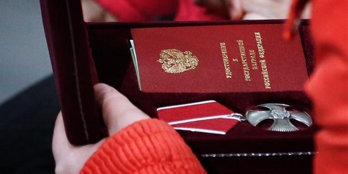 Путин наградил орденом Мужества военных медиков, погибших и пострадавших в Сирии