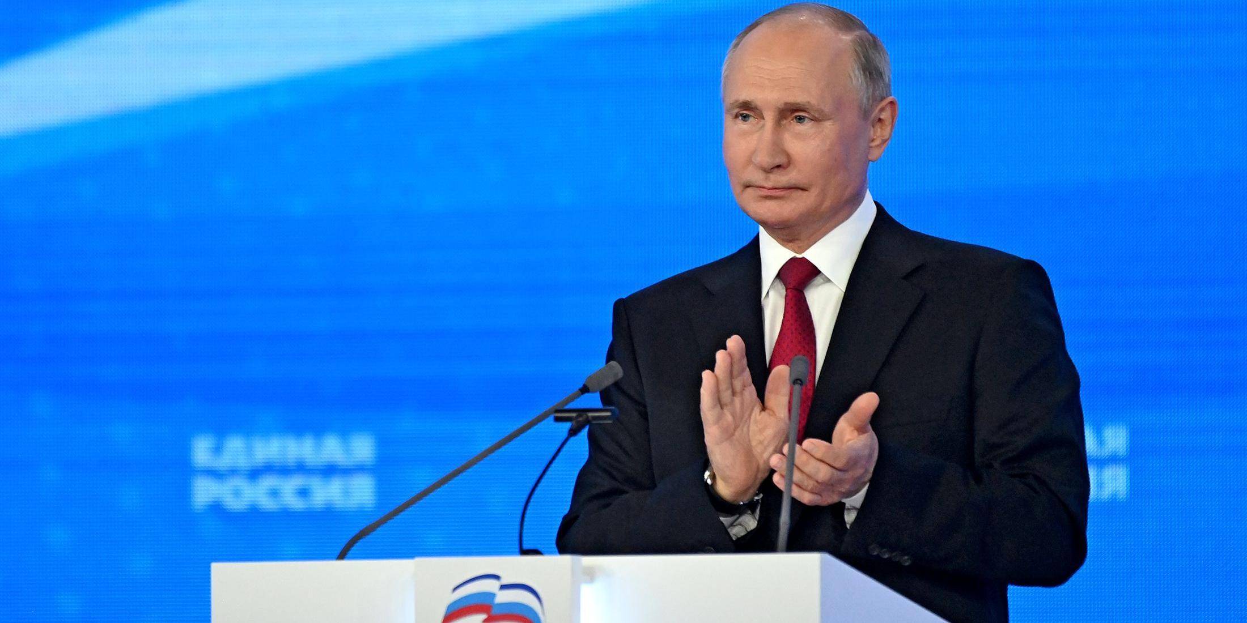 """Путин: """"Единая Россия"""" обязуется добиться заявленных планов"""