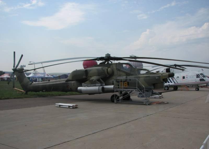 Российские вертолеты «Ночной охотник» прибыли в Ирак