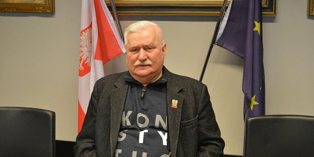 Лех Валенса посмеялся над требованиями Варшавы к Москве о репарациях