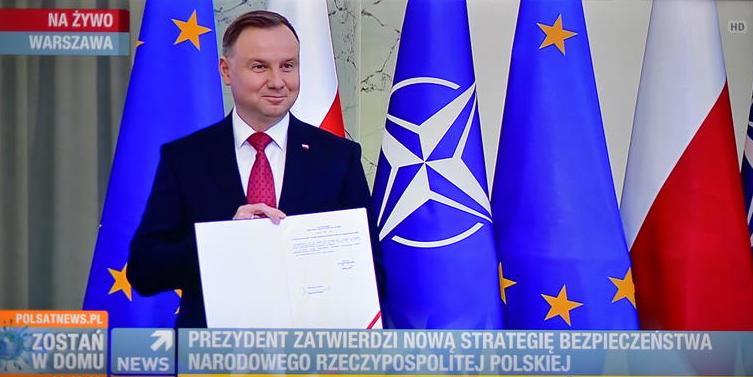 Россия официально стала для Польши главной угрозой