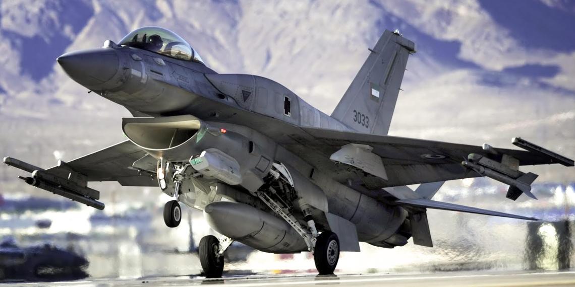 В Болгарию переброшена эскадрилья американских F-16