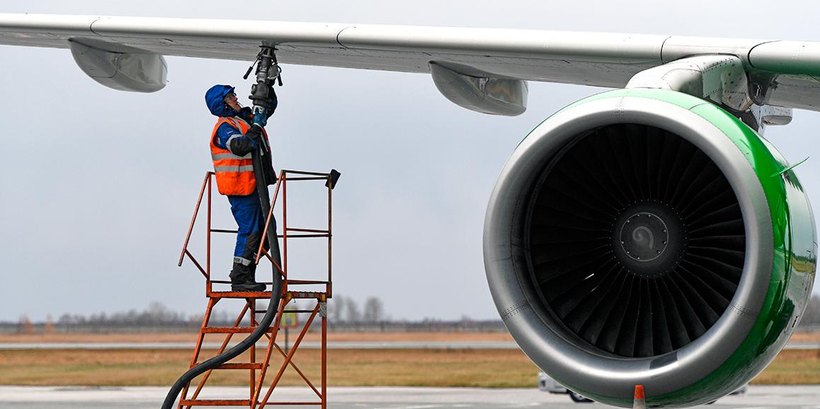 В России разработают экологическое топливо для самолетов
