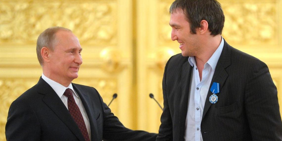 Овечкин рассказал, что сделал со свадебным подарком Путина