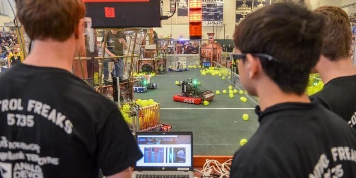 В США исчезла сборная Бурунди по робототехнике