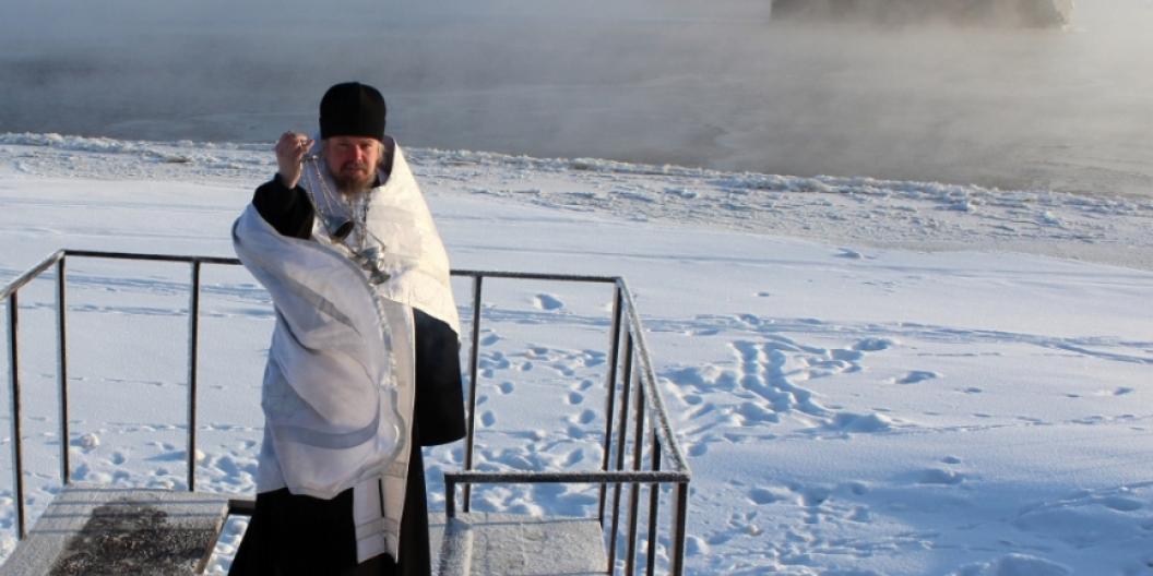 Власти российского города решили освятить водопроводную воду