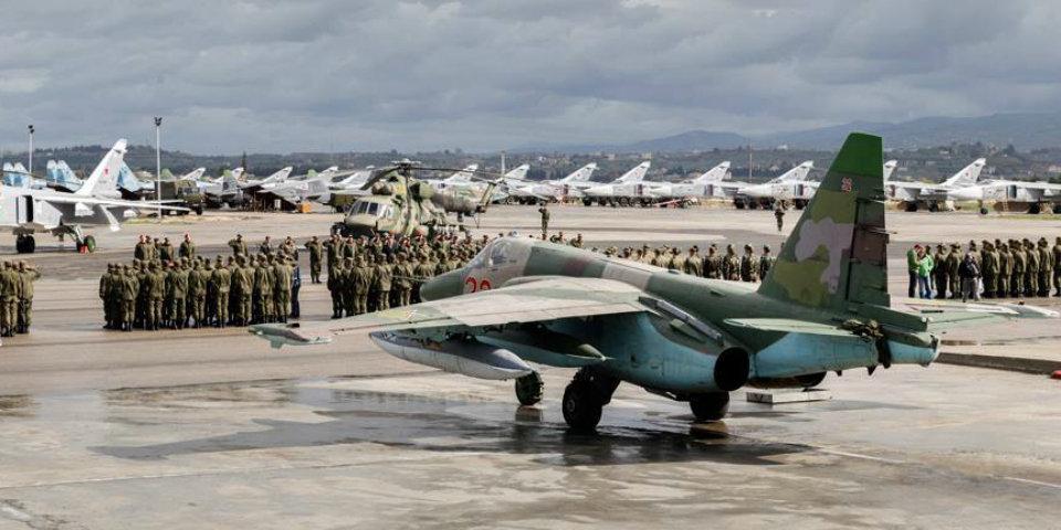 """Российские военные уничтожили неизвестные БПЛА у базы """"Хмеймим"""""""
