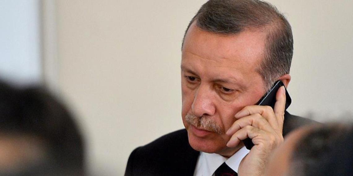 """Эрдоган в разговоре с Путиным заявил о """"красной черте"""" Турции в Карабахе"""