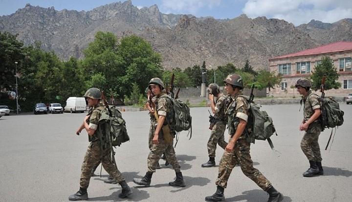 В Армении 50 граждан республики приняли присягу для службы в российских погранвойсках