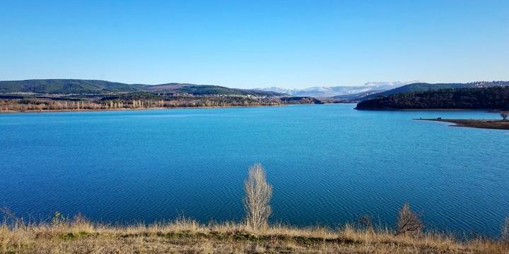 В сети показали, как Симферопольское водохранилище выглядит сейчас