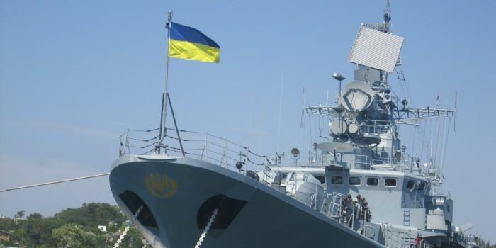 Флагман украинского флота вышел из строя после ремонта