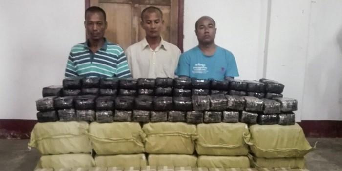 У буддийского монаха нашли 5 миллионов таблеток метафметамина, гранату и патроны
