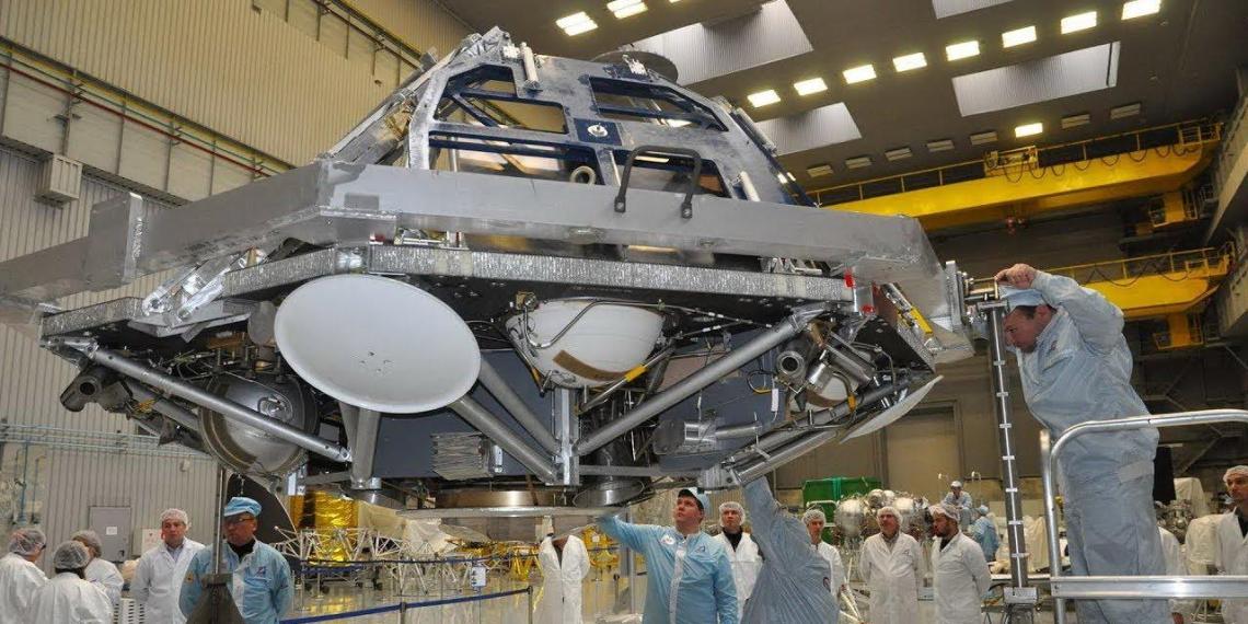 Россия отложила на два года запуск марсианской научной станции