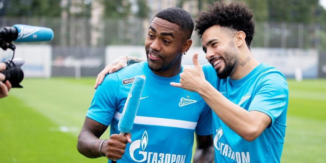 """ФИФА запретила Малкому и Клаудиньо выступать за """"Зенит"""""""