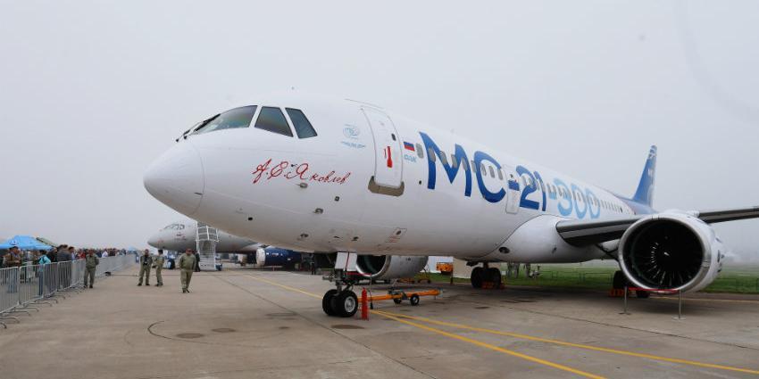 Россия повременит с экспортом самолета МС-21