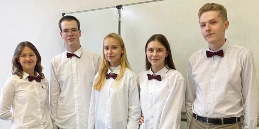 Московские лицеисты завоевали три золотые медали на международной олимпиаде по экономике