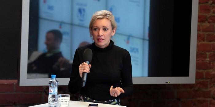 Мария Захарова отреагировала на планы журналистов судиться с ней