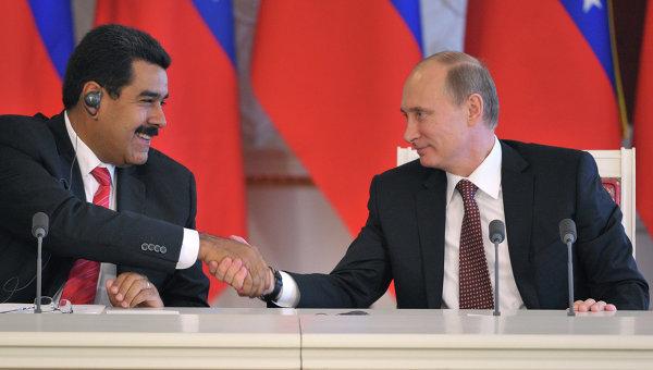 Путин и Мадуро договорились о восстановлении торговых отношений