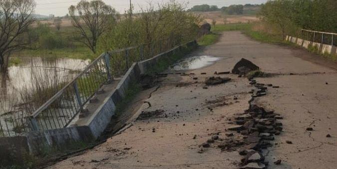 В Приморье обрушился четвертый мост за три месяца