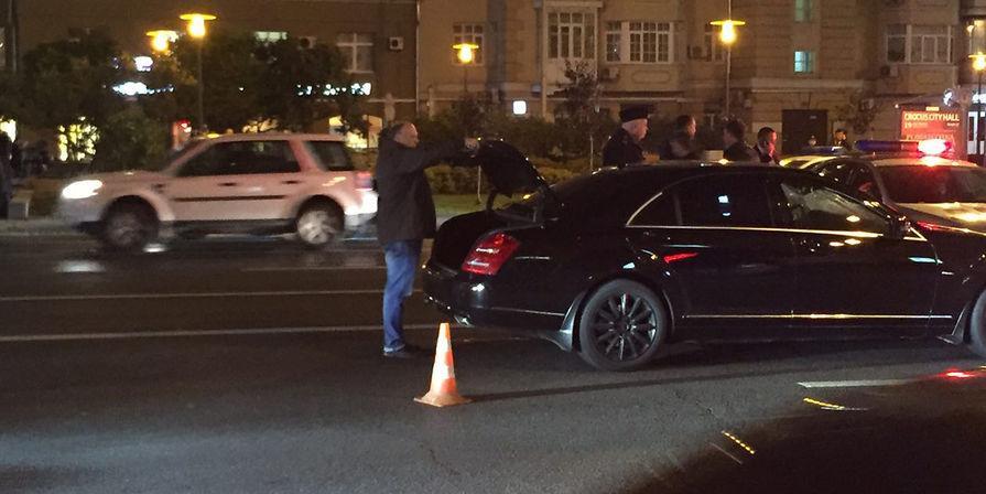 Виновником аварии с правительственным Mercedes могут признать погибшего сотрудника ГИБДД