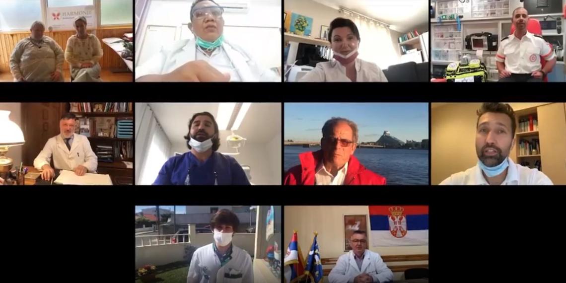 Зарубежные врачи записали видеоролик с поздравлением российских коллег с Днем медицинского работника