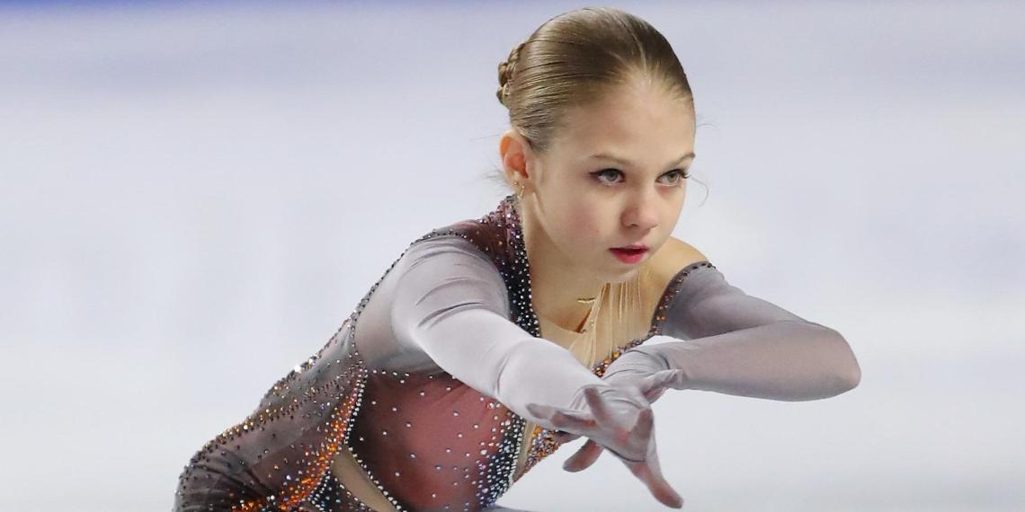 Трусова вновь попала в Книгу рекордов Гиннесса