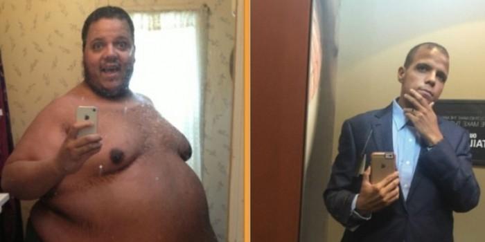 Американец потерял половину своего веса после троллинга на сайте бодибилдеров
