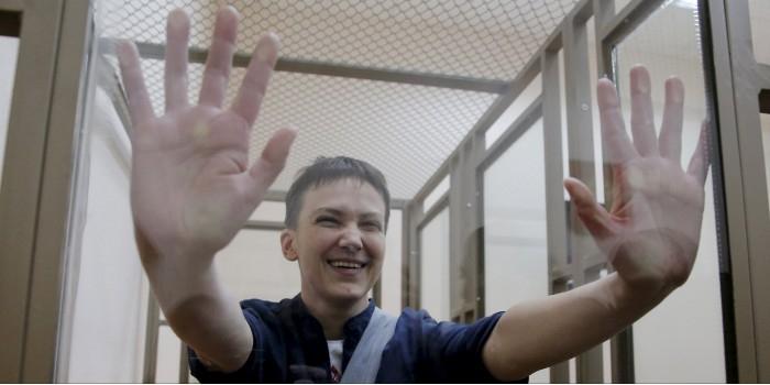 Савченко вылетела в Киев