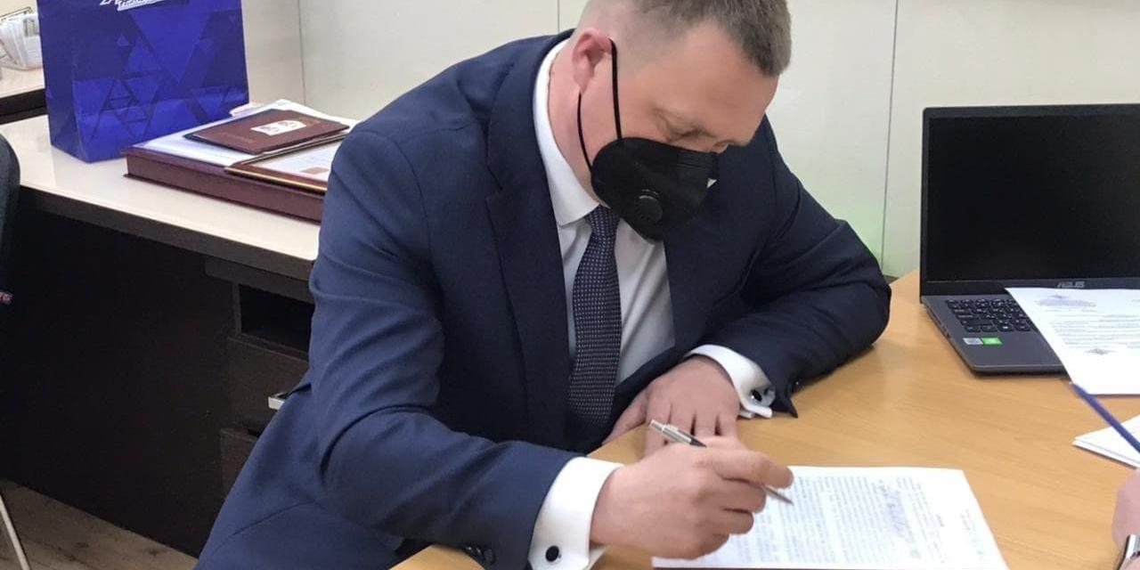 Кастюкевич подал документы на участие в предварительном голосовании Единой России