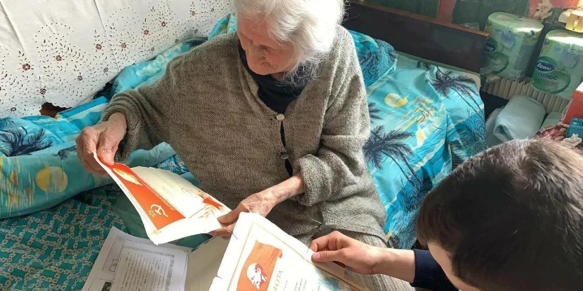 """Активисты """"Молодёжки ОНФ"""" в регионах навещают ветеранов Великой Отечественной войны"""