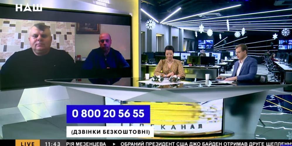 Украинский патриот в прямом эфире объяснил отказ переезжать из Крыма в Незалежную