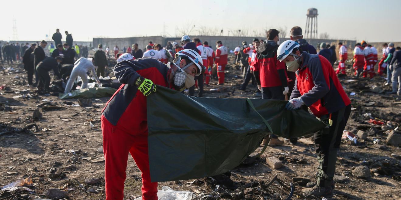 Иран отказался платить компенсации семьям украинцев, погибших в сбитом Boeing