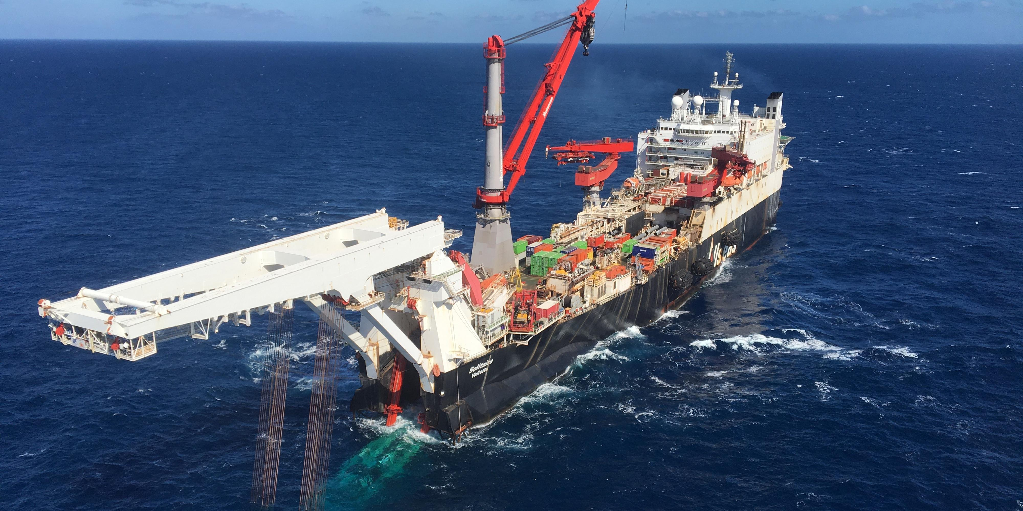 Nord Stream 2 AG попросила Данию смягчить требования к прокладке СП-2