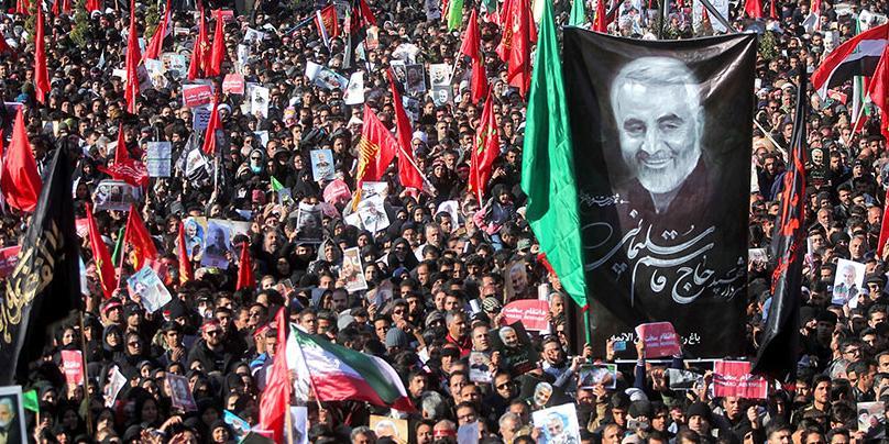 Похороны генерала Сулеймани обернулись гибелью свыше 30 иранцев
