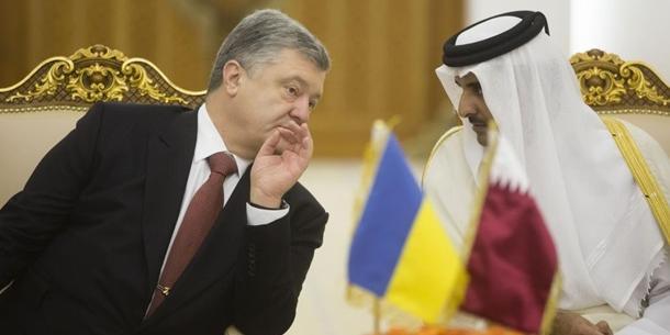 Порошенко надеется на поставки газа из Катара