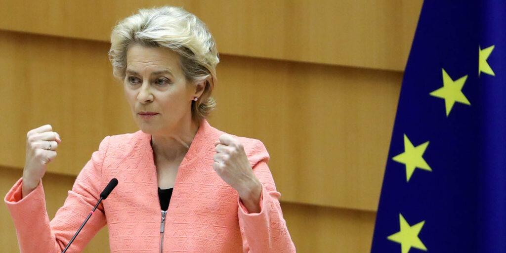 Глава Еврокомиссии возмутилась политикой AUKUS в отношении Франции