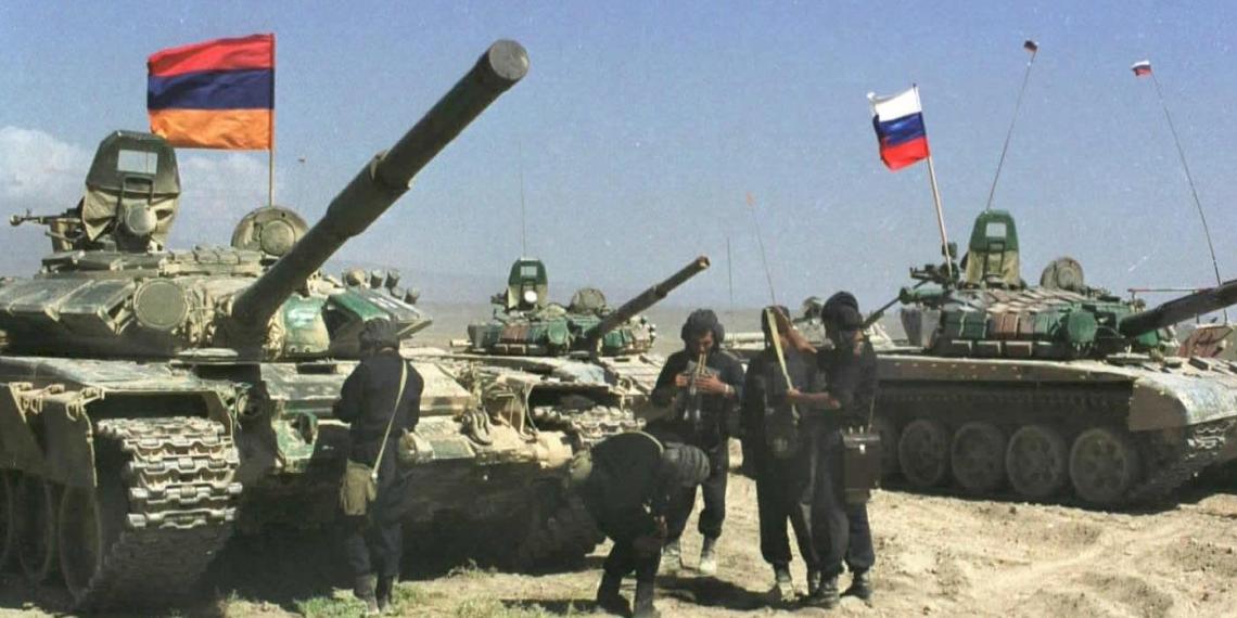 Россия вернула в Армению свои войска с учений