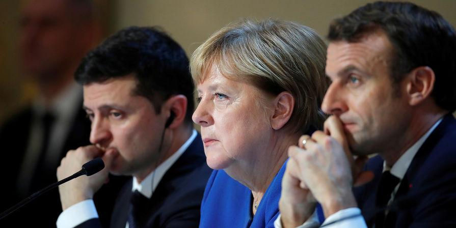Украина, Германия и Франция обсудят Донбасс без России