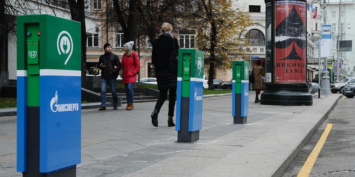 В Москве появятся 50 станций для ускоренной зарядки электромобилей