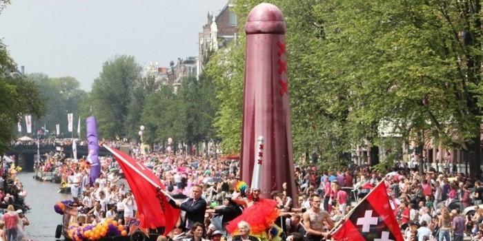 Еврокомиссия впервые станет участником гей-прайда в Нидерландах
