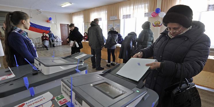 Треть избирателей Сахалина уже проголосовала на выборах президента