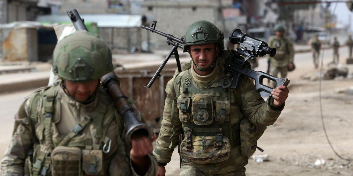 Турецкая партия Vatan назвала войну с Сирией капканом для Эрдогана