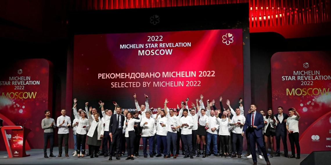 Звезды Michelin получили сразу 9 московских ресторанов