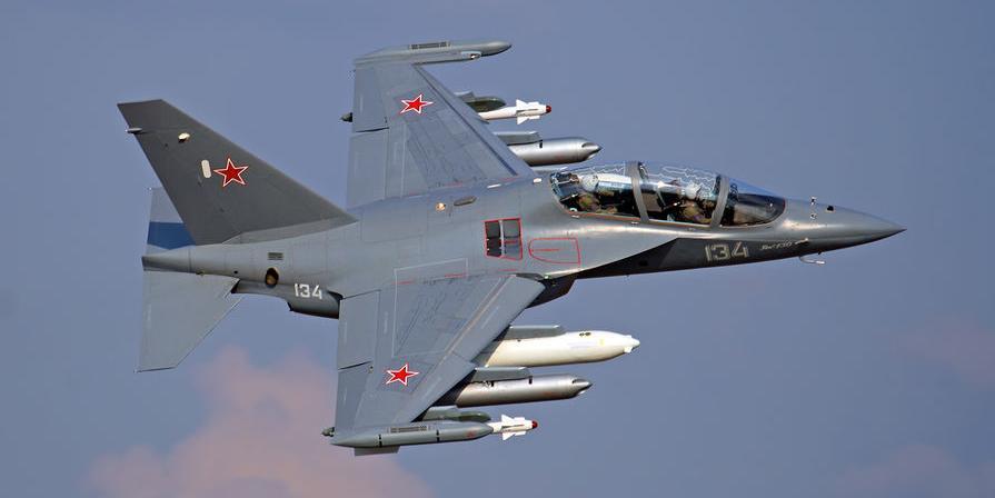 Под Борисоглебском разбился учебно-боевой Як-130