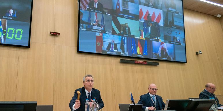 """Турция """"хлопнула дверью"""" на первой виртуальной конференции НАТО"""