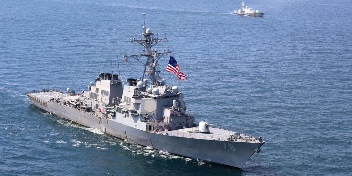 Вашингтон отменил проход военных кораблей в Черное море
