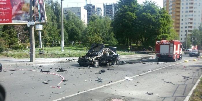 Погибший в результате взрыва машины украинский полковник руководил охраной Вороненкова
