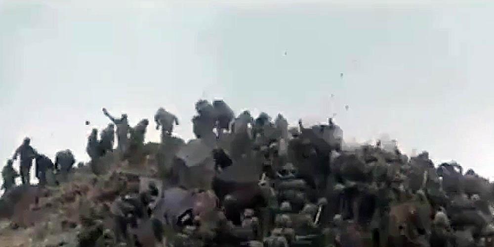 Опубликовано видео рукопашного побоища солдат на границе двух ядерных государств